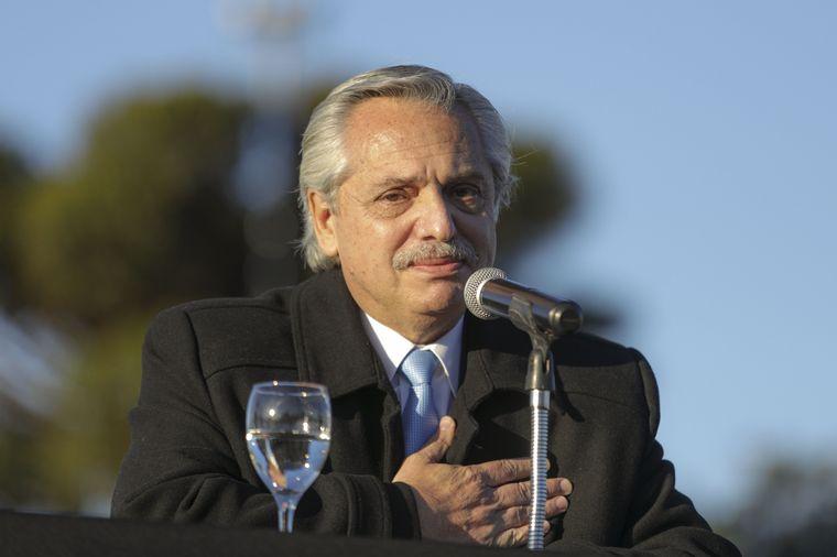Alberto Fernández se refirió al festejo: «Lamento que haya ocurrido»