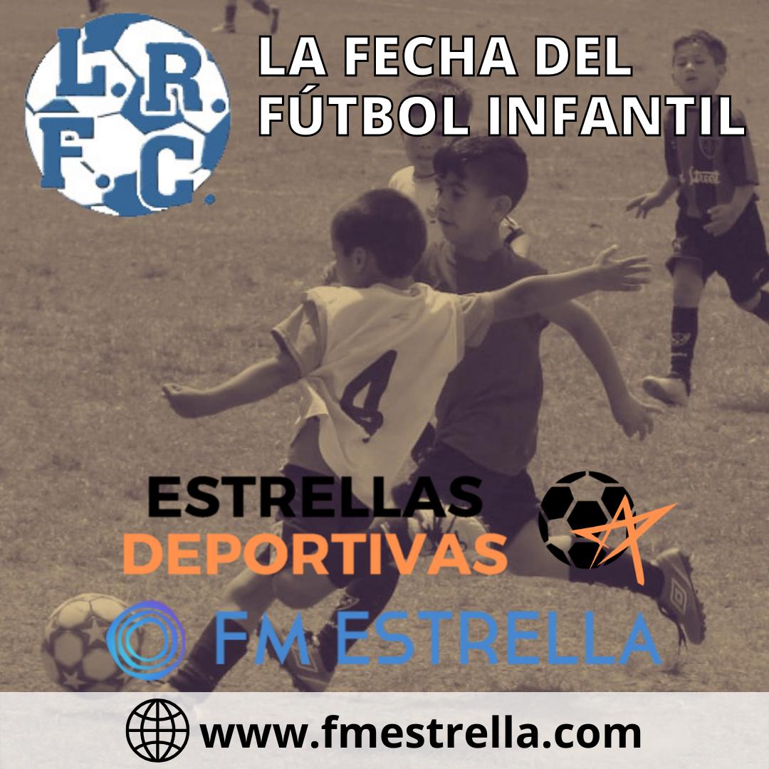 Fútbol Infantil: Todo lo que dejo la sexta fecha de la LRFC