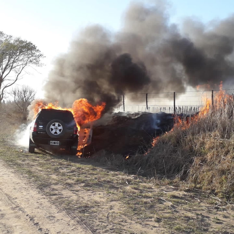 Incendio Vehicular.
