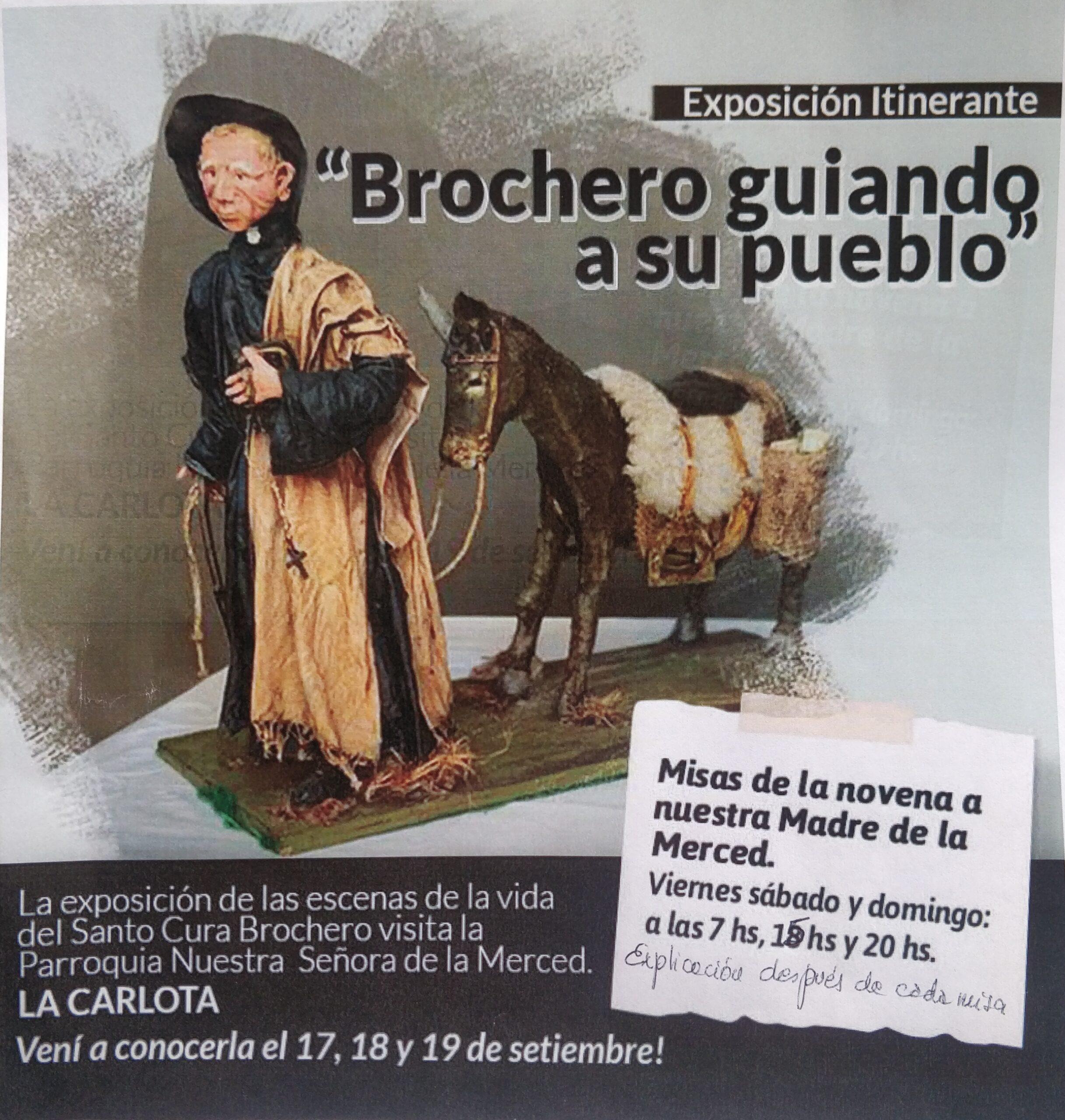 Brochero mostrado en La Carlota.