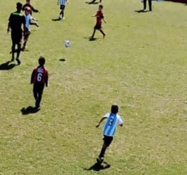 Central y Ross se enfrentaron en el clásico de fútbol infantil