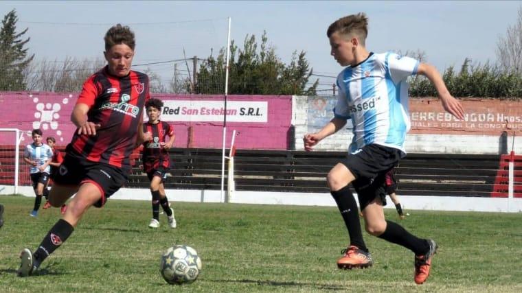 Fútbol Infantil: los clubes de La Carlota se enfrentaron a los de Canals