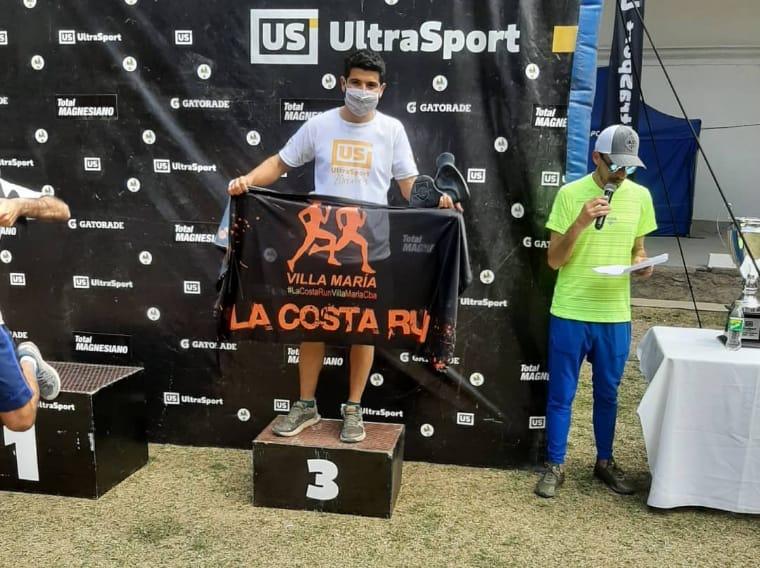 Carrera de Montaña: El carlotense Damián Cassagne y su equipo se destacaron en Mina Clavero