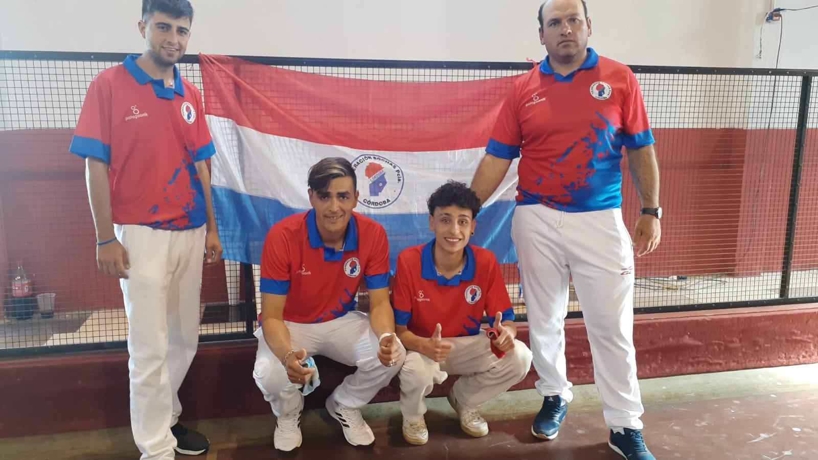Bochas: Deportistas de la Asociación Juárez Celman participaron en el Torneo Argentino