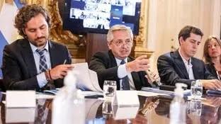 Crisis en el gobierno argentino.